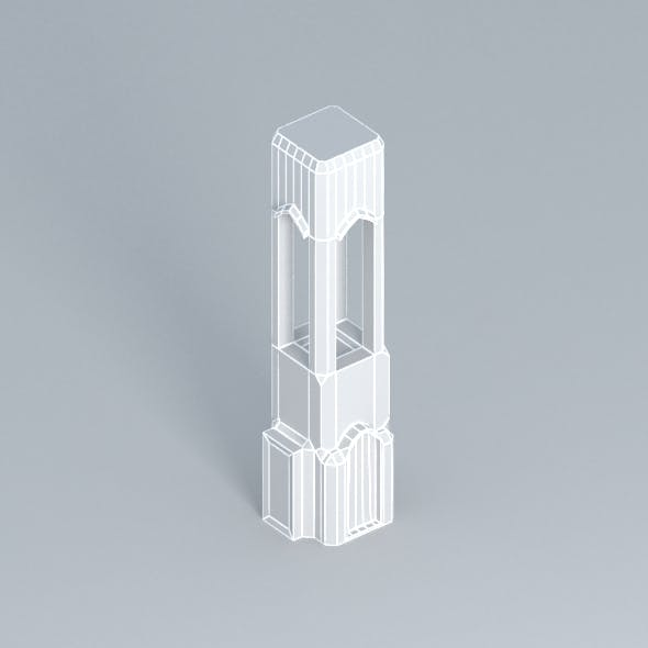 Medieval tower LowPoly - 3DOcean Item for Sale