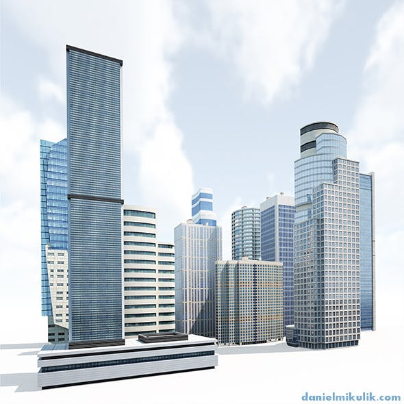 Skyscrapers Building Pack
