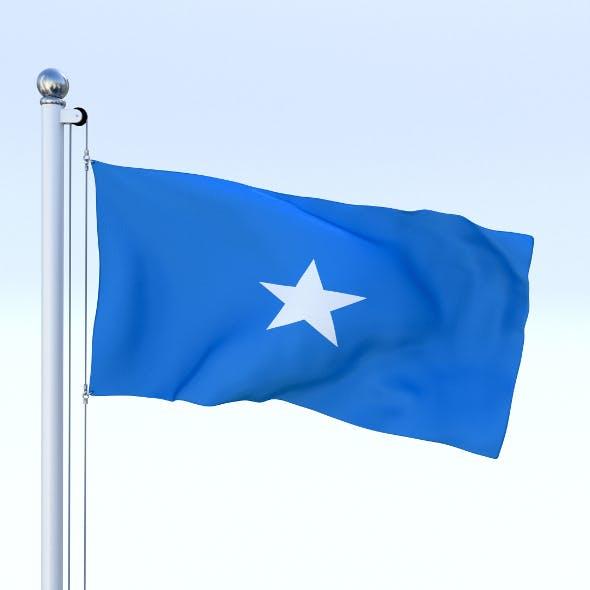 Animated Somalia Flag - 3DOcean Item for Sale