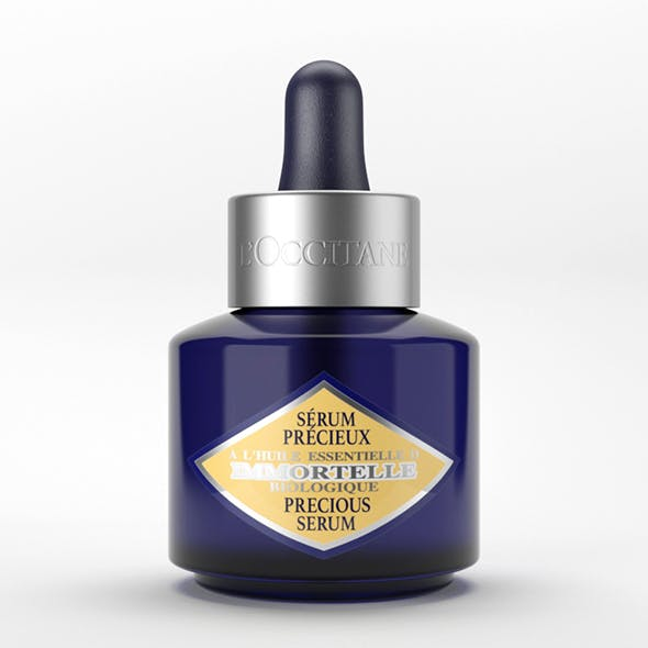 Cosmetic Packaging L'Occitane Immortelle Precious Serum