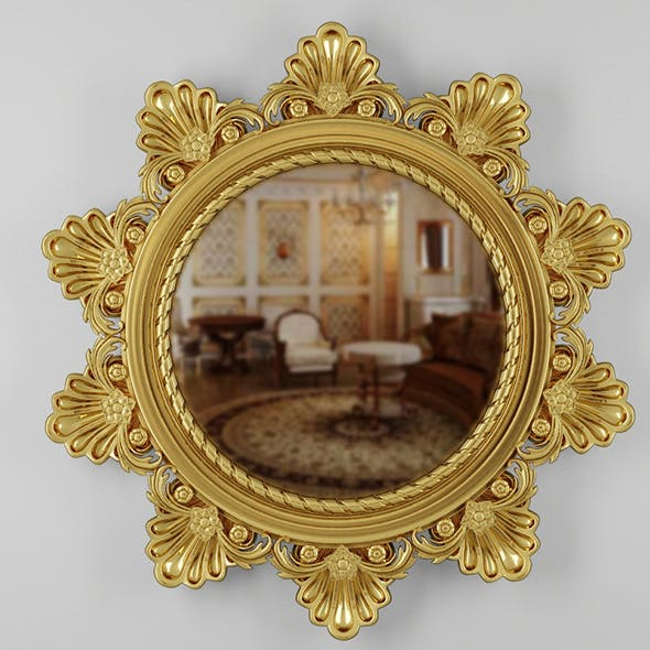 Classic Mirror - 3DOcean Item for Sale