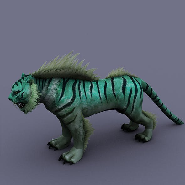 tiger turquoise