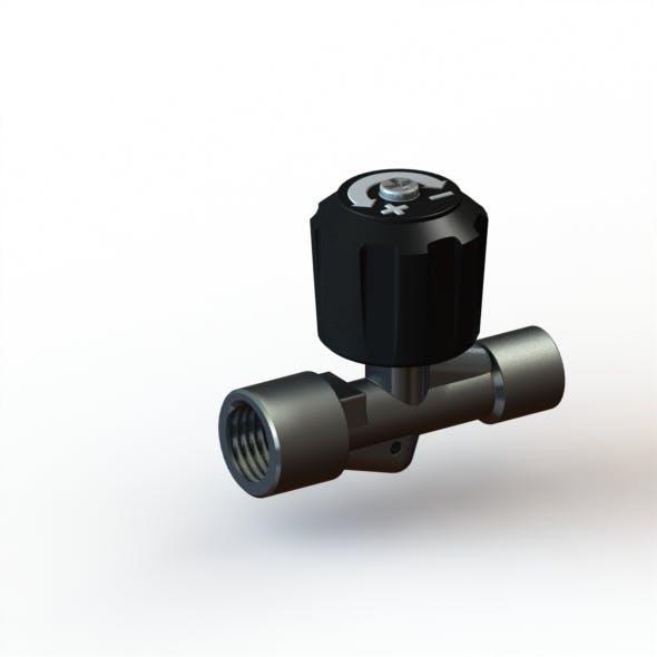 Needle valve - 3DOcean Item for Sale