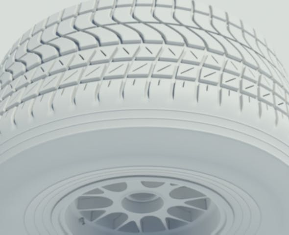 Pirelli wet tyre - 3DOcean Item for Sale