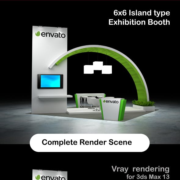Exhibition Booth Island 6x6