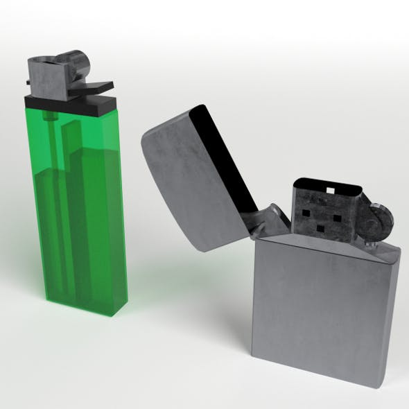 Disposable and Zippo Lighters