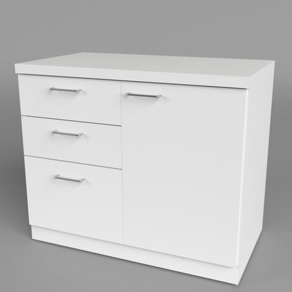 Office Chest of Drawers 1