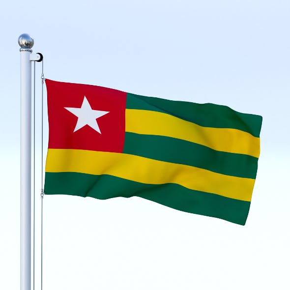 Animated Togo Flag