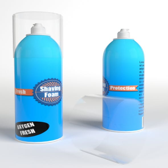 Shaving Foam Bottles