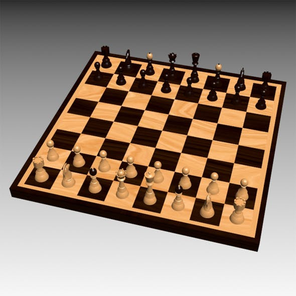 A chess set
