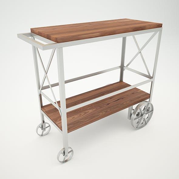 Butler Industrial Trolley Server - 3DOcean Item for Sale