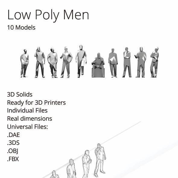 Low Poly Men Pack