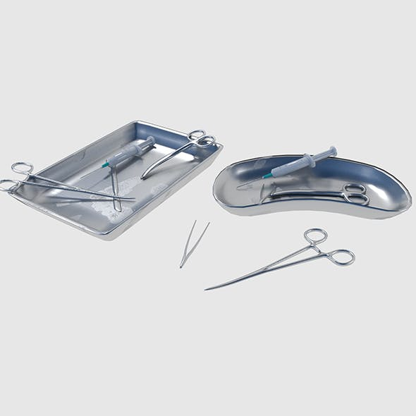 Surgical Instruments - 3DOcean Item for Sale