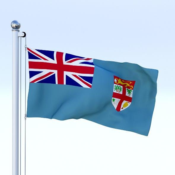 Animated Fiji Flag - 3DOcean Item for Sale