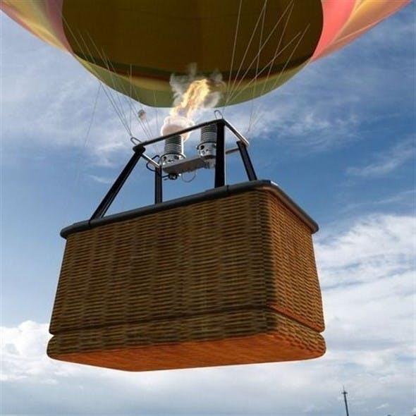 Air balloon - 3DOcean Item for Sale