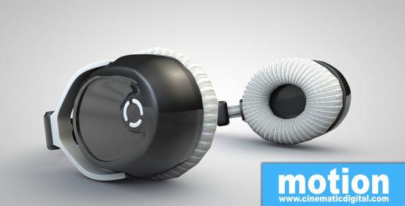 Headphone V 4 - 3DOcean Item for Sale