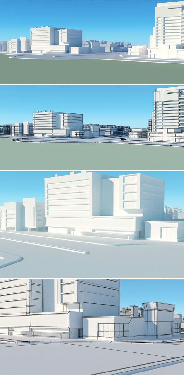 City Vol 1 - 3DOcean Item for Sale