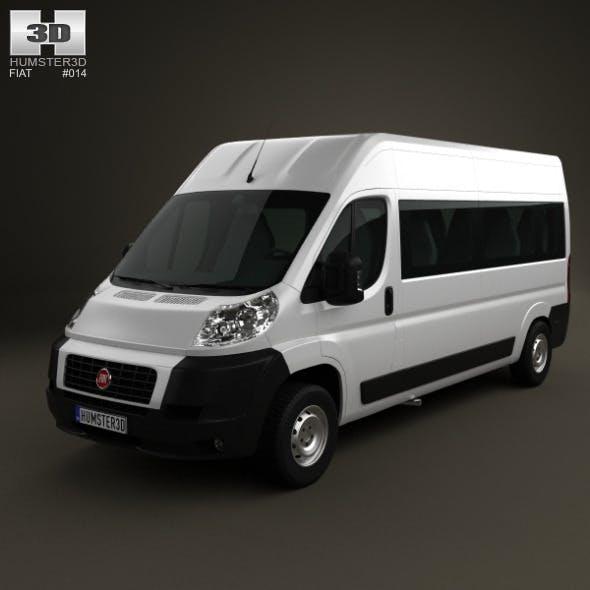 Fiat Ducato Minibus 2012 - 3DOcean Item for Sale
