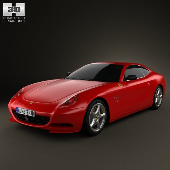 Ferrari 612 Scaglietti 2006 - 3DOcean Item for Sale