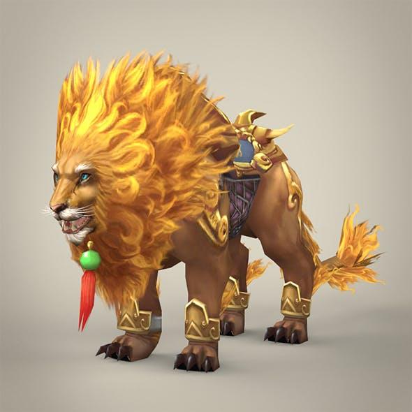 Fantasy Warrior Lion