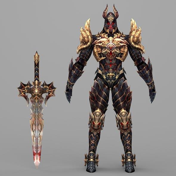 Fantasy Character Hell King