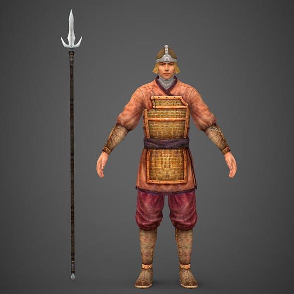 Ancient Warrior - 3DOcean Item for Sale