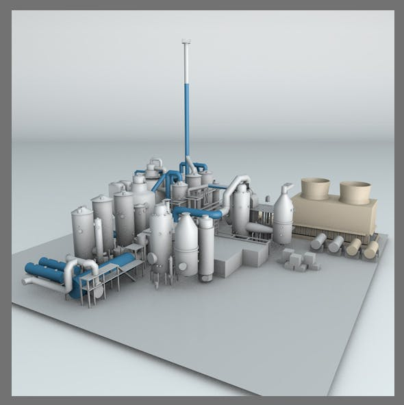Power Plant - 3DOcean Item for Sale