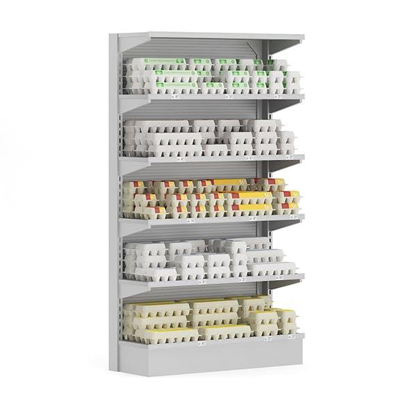 Market Shelf - Eggs