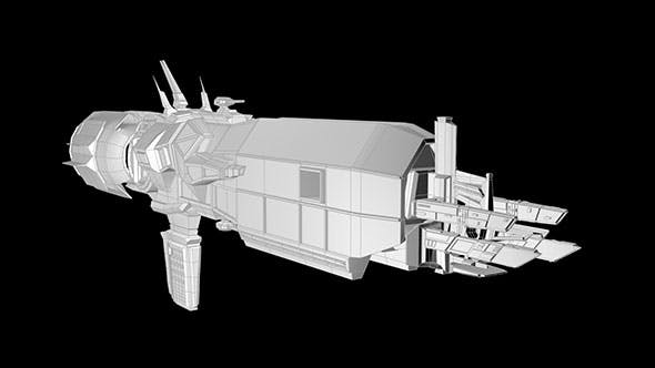 Sulaco space ship - 3DOcean Item for Sale