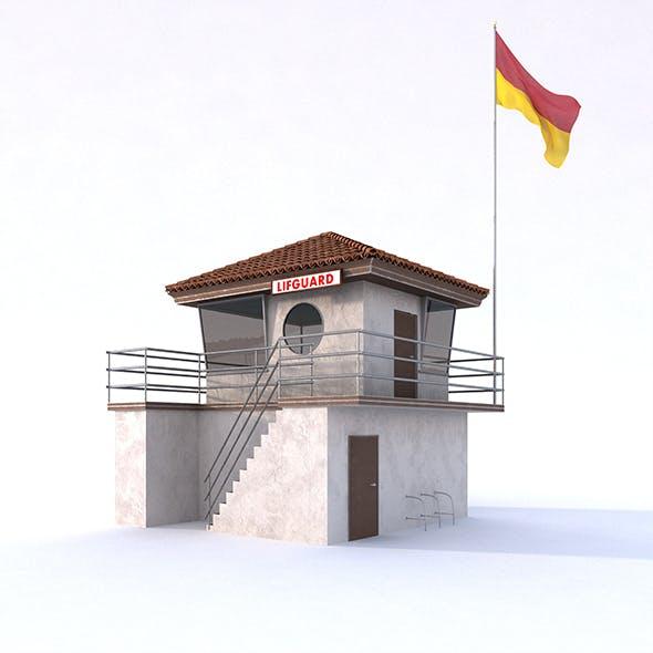 Lifeguard Building