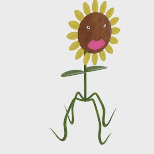 Sunflower Character