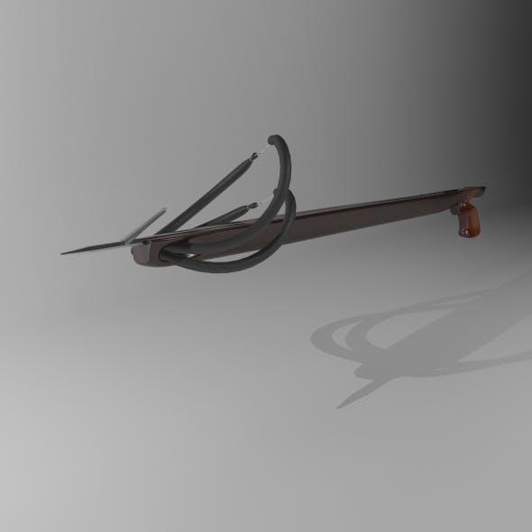 Wooden Spear Gun