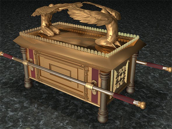 Ark of the Covenant - 3DOcean Item for Sale