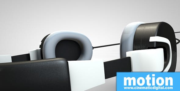 Headphones v9 - 3DOcean Item for Sale