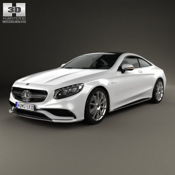 Mercedes-Benz S-Class 63 AMG coupe 2014 - 3DOcean Item for Sale