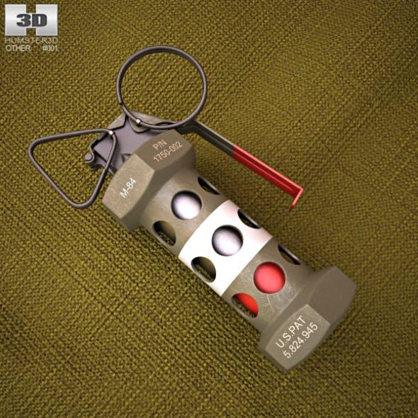 M84 Stun Grenade - 3DOcean Item for Sale