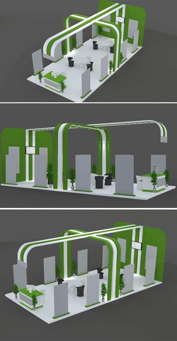 Stall Design 1 - 3DOcean Item for Sale