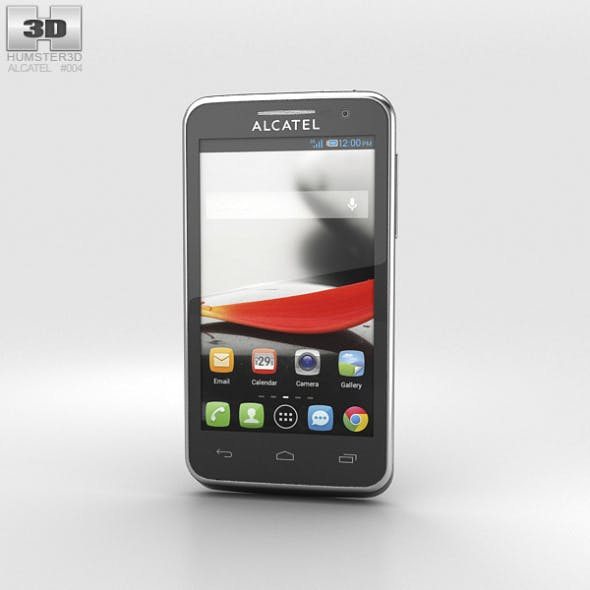 Alcatel One Touch Evolve Black - 3DOcean Item for Sale