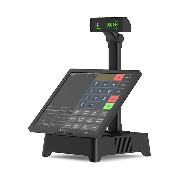 Cash Register with Touchscreen - 3DOcean Item for Sale