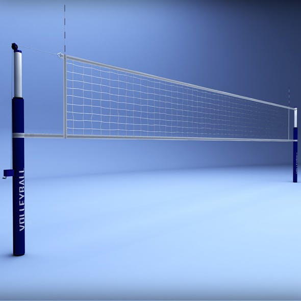 Volleyball net low poly - 3DOcean Item for Sale