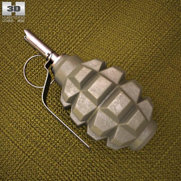 F1 Grenade - 3DOcean Item for Sale