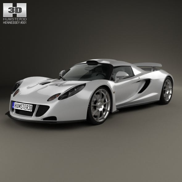 Hennessey Venom GT 2012 - 3DOcean Item for Sale