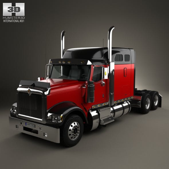 International 9900i Tractor Truck 2004 - 3DOcean Item for Sale