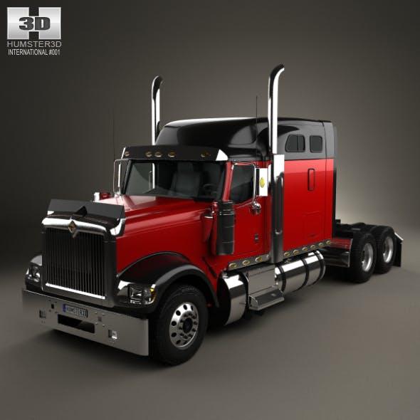 International 9900i Tractor Truck 2004