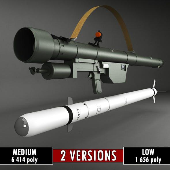 SA-7 Gral Rocket Launcher Pack - 3DOcean Item for Sale