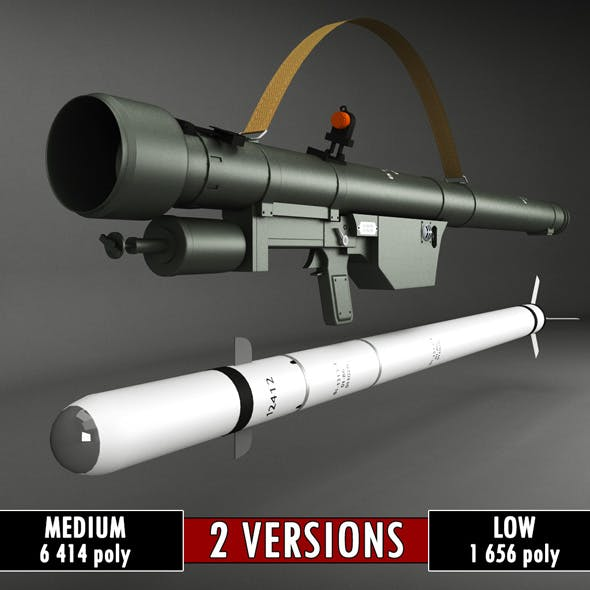 SA-7 Gral Rocket Launcher Pack