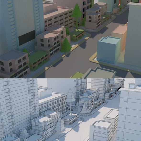 Cartoon City Model