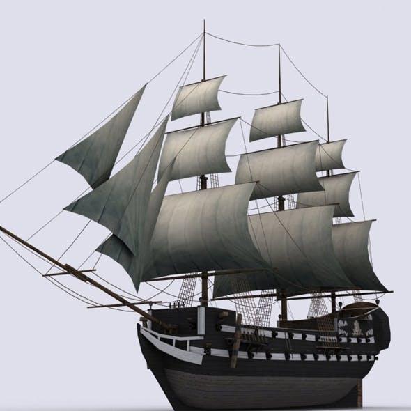 Frigate - 3DOcean Item for Sale