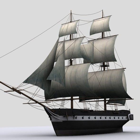 Sailboat brig