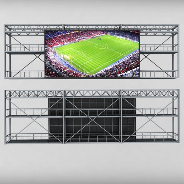 Scoreboard stadium tv led screen